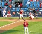 Altoona shortstop Brock Holt