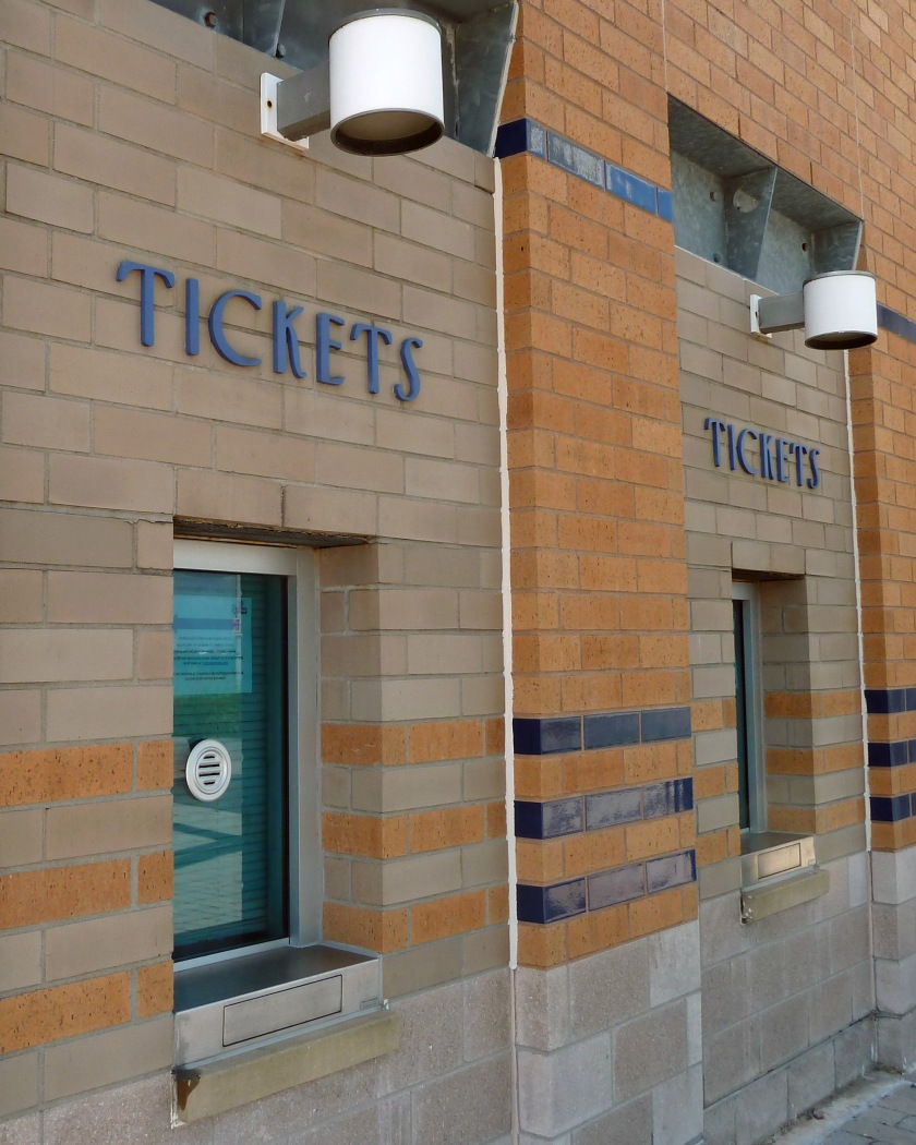 Ticket windows at Richmond County Bank Ballpark in Staten Island (Photo credit: Paul Hadsall)