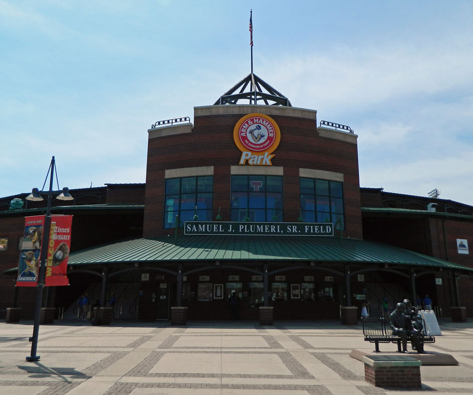 Arm & Hammer Park, home of the Trenton Thunder (Photo credit: Paul Hadsall)
