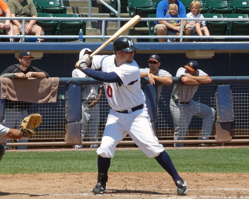 Paddy Matera playing for the Newark Bears in 2011 (Photo credit: Paul Hadsall)