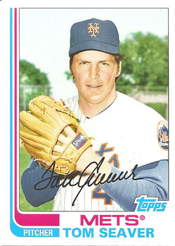 Tom Seaver's 2013 Topps Archives baseball card