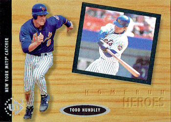 1997 Upper Deck UD3 Todd Hundley baseball card