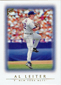 Al Leiter's 1999 Topps Gallery baseball card