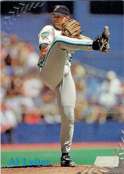 Al Leiter's 1998 Topps Stadium Club baseball card