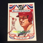 Mark Trumbo's 2014 Donruss Diamond King Press Proof baseball card (available for trade)