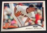 Jeremy Affeldt's 2014 Topps baseball card