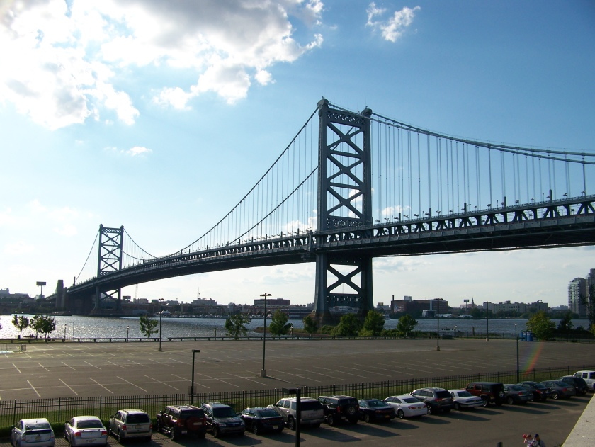 The Benjamin Franklin Bridge (Photo credit: Paul Hadsall)