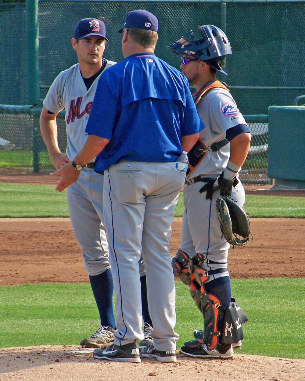Despite some early struggles, Binghamton Mets pitcher Seth Lugo pitched 7 shutout innings against the Trenton Thunder Sunday (Photo credit: Paul Hadsall)