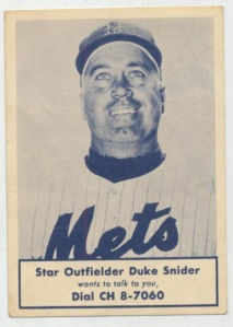 1963 Nassau County Boy Scouts Duke Snider baseball card (Clean Sweep Auctions image via Forbes)