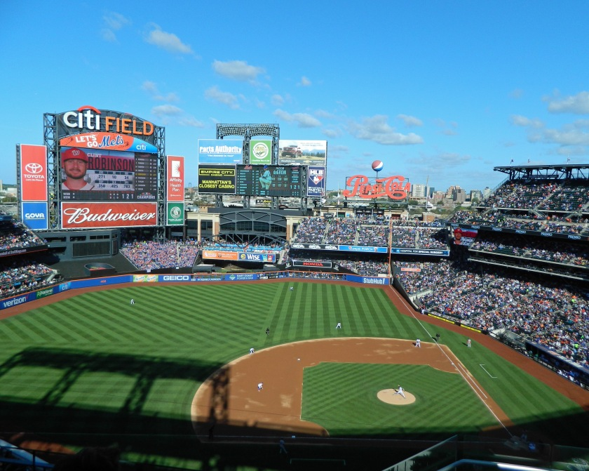 The Mets got a beautiful day for their final regular season game of 2015 on Oct. 4, 2015. (Photo credit: Paul Hadsall)