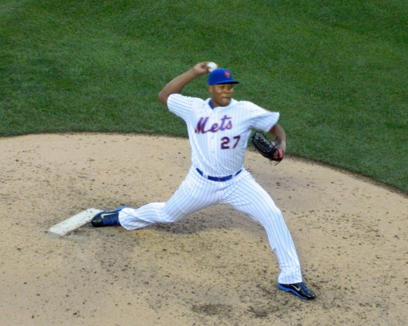 Jeurys Familia earned his 43rd save on Oct. 4, 2015, tying a Mets team record held by Armando Benitez (Photo credit: Paul Hadsall)