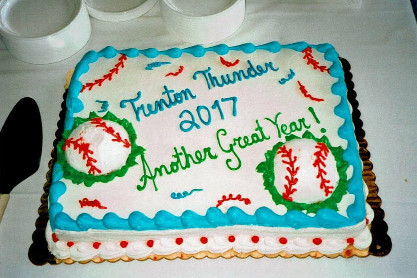 Trenton Thunder Cake